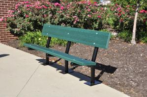 6' Madison Bench - Recycled Plastic