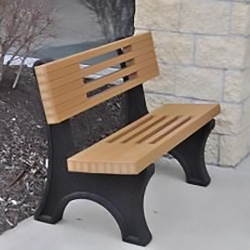 Ariel Bench 8' - Recycled Plastic