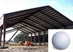Single Volleyball Court Cover