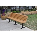 4' Louisville Bench - Recycled Plastic