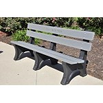 8' Pioneer Bench - Recycled Plastic